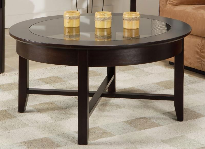 Handstone Demilune Coffee Table Canadian Made Solid Wood Toronto