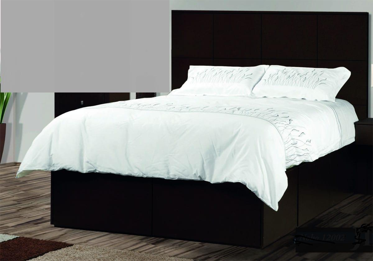 Noho Storage Platform King Bed W Wooden Headboard Berkshire Furniture