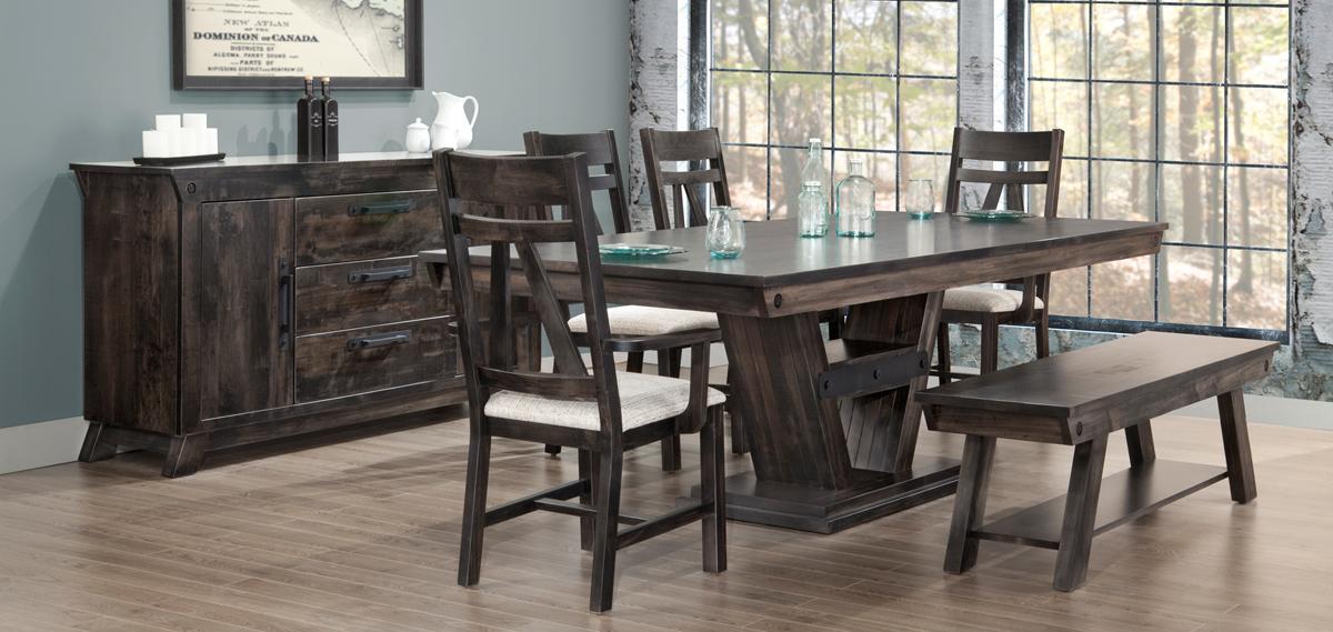 Algoma Dining Table Set 7 Pcs