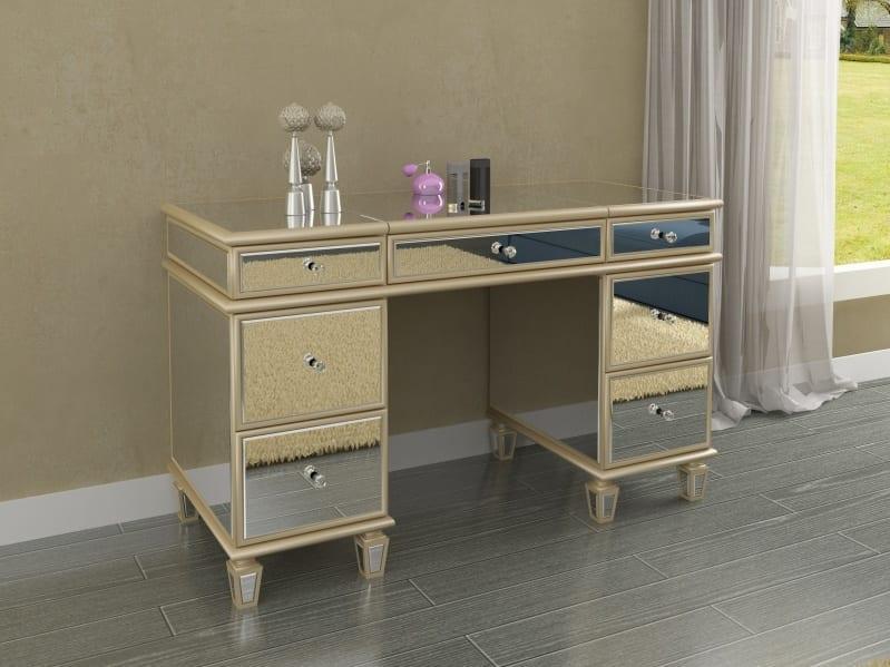 Bethel Mirrored Desk Mx48